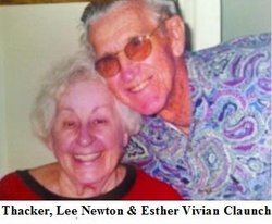 Esther Vivian <i>Claunch</i> Thacker