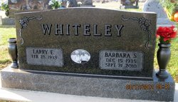 Barbara Sue Bobbie <i>Baltimore</i> Whiteley