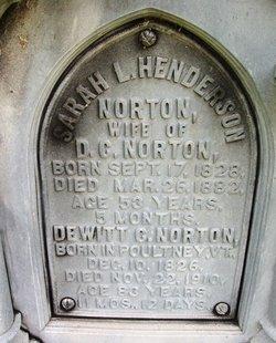 Sarah Louisa <i>Henderson</i> Norton