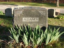 Annie M <i>Lyons</i> Adams