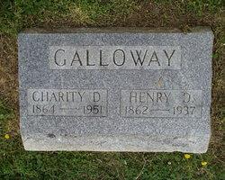 Charity D. Elizabeth <i>Rice</i> Galloway