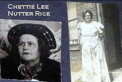 Chettie Lee Rice