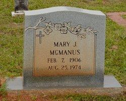 Mary Jane McManus