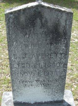 Mary Jane Mollie <i>Herrington</i> Averett