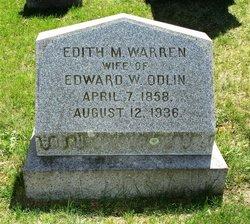 Edith M. <i>Warren</i> Odlin