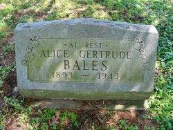 Alice Gertrude Bales