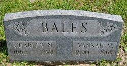 Vannah M. <i>Wright</i> Bales