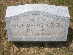 Alice Maude <i>Dillon</i> Anders