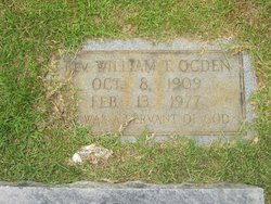 Rev William Taft Ogden