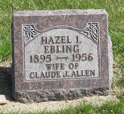 Hazel I <i>Ebling</i> Allen