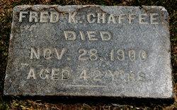 Frederick K Fred Chaffee