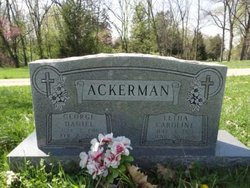 Letha Caroline <i>Harvey</i> Ackerman