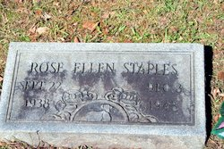 Rose Ellen Staples