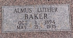Almus Luther Baker