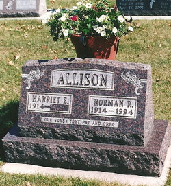 Harriet E <i>Sheridan</i> Allison