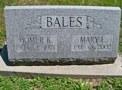 Mary E. <i>Doan</i> Bales