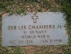 Zeb Lee Chambers, Jr