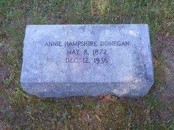Annie <i>Hampshire</i> Donegan