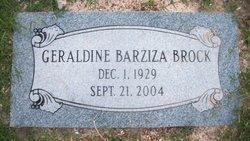 Geraldine <i>Barziza</i> Brock