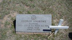 Pvt George Andrews
