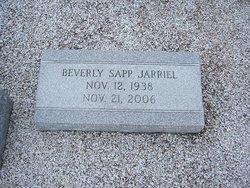 Beverly <i>Sapp</i> Jarriel