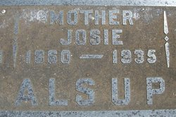 Josephine <i>Ware</i> Alsup