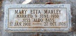 Mary Etta <i>Marley</i> Bass