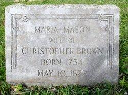 Anna Maria Mason Brown