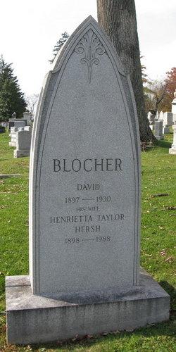 Henrietta Taylor <i>Hersh</i> Blocher