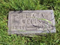 Julia A <i>Echart</i> Wells