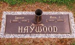 Annie L <i>Partin</i> Haywood