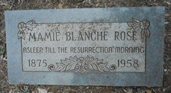 Mamie Blanche <i>Broers</i> Rose