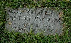 Nora A. <i>Bowman</i> Barnes
