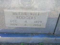 Betty <i>Witt</i> Rodgers
