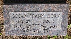 Oscar Franklin Frank Horn