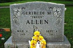 Gertrude M. Trudy Allen