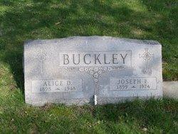 Alice D Buckley