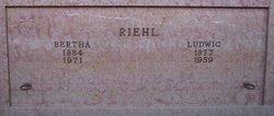 Bertha <i>Westphal</i> Riehl