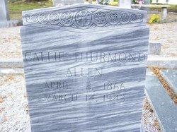 Callie Thurmond Allen