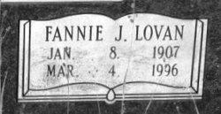 Fannie John <i>Lovan</i> Burford