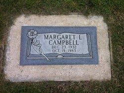 Margaret L <i>Parker</i> Campbell