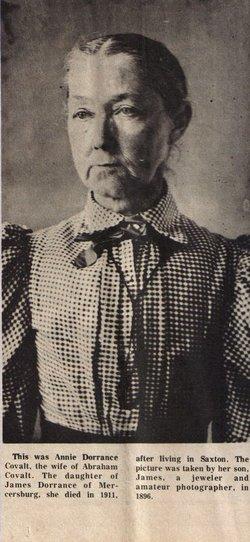 Annie Mariah <i>Dorrance</i> Covalt