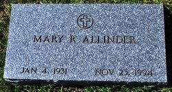 Mary R. Allinder