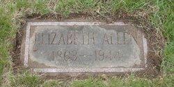 Elizabeth <i>Arnett</i> Allen