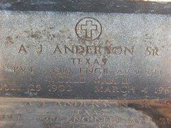 A J Anderson, Sr