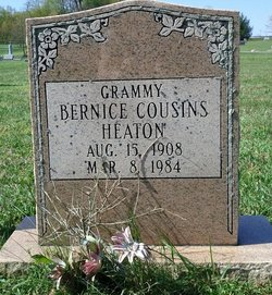 Bernice <i>Cousins</i> Heaton