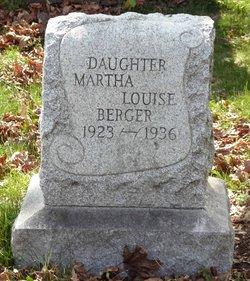 Martha Louise Berger
