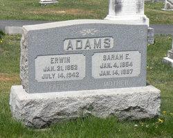Sarah Elizabeth <i>Long</i> Adams