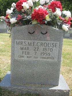 Mrs Malissa Emily <i>Ivy</i> Crouse