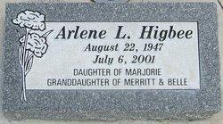 Arlene L <i>Clark</i> Higbee